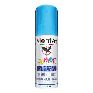 ALONTAN JUNIOR 75ML INSETTOREPELLENTE BARRIERA MULTI INSETTO