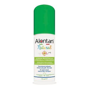 ALONTAN NATURAL SPRAY 75ML CON CITRONELLA CORIANDOLO E GERANIO