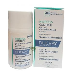 HIDROSIS CONTROL DEODORANTE ROLL-ON DUCRAY ANTI TRASPIRANTE ASCELLE  40ML
