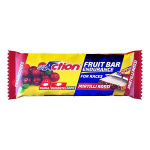 PROACTION FRUIT BARRETTA MIRTILLI ROSSI 40GR